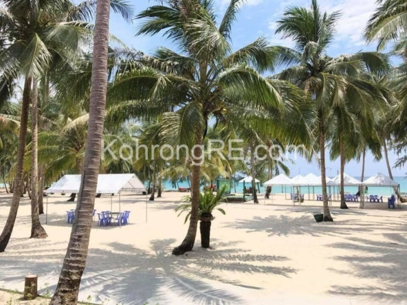 beachfront land for sale at Royal Beach in Koh Rong island, Cambodia, Hard title, white sand beach, Koh Rong property for sale, Koh Rong land for sale, Cambodia (2)