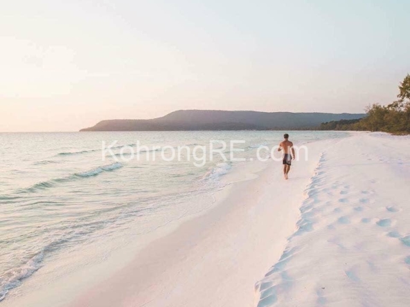 beachfront land for sale at Royal Beach in Koh Rong island, Cambodia, Hard title, white sand beach, Koh Rong property for sale, Koh Rong land for sale, Cambodia (4)