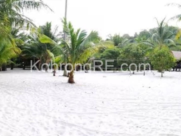 land for sale in Koh Rong island, Prek Sway, Palm beach, Cambodia (1)