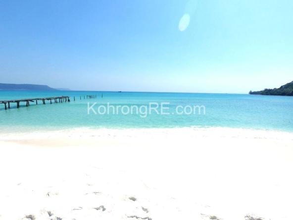 beachfront land -land for rent -Koh Rong island - Cambodia - real estate