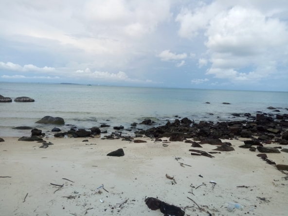 Sandy Beach Land for sale, beachfront land, Koh Rong Samloem, Cambodia, real estate property (2)