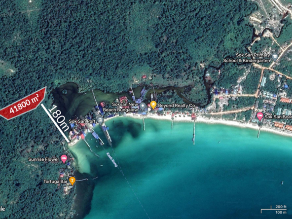 41800 sqm land for sale Sok San