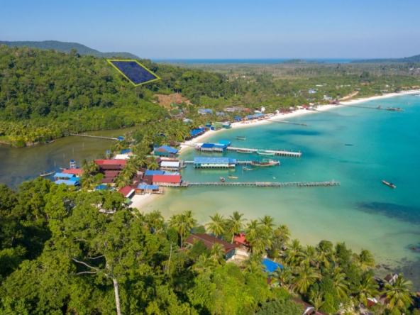 Koh Rong land for sale in royal beach Sok San Beach